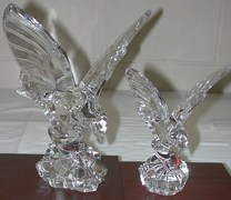 Crystal Eagle with Outstretched Wings